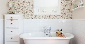 BATHROOM WALLPAPER - IS IT A GOOD IDEA?