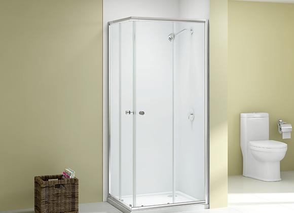 Ionic Source Corner Door