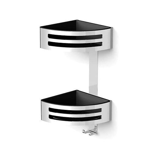 Corner Two Tier Shower Basket