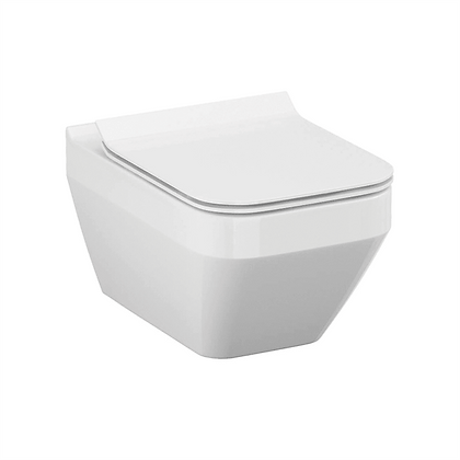 Qualitex - Crea Square Rimless Wall Hung Pan