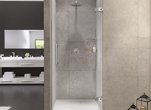 ARYSTO TEN Wall Hinge Shower Door in Recess
