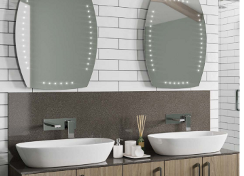 Radius LED Mirror