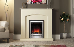 Bewley 42 electric fireplace in ivory pa