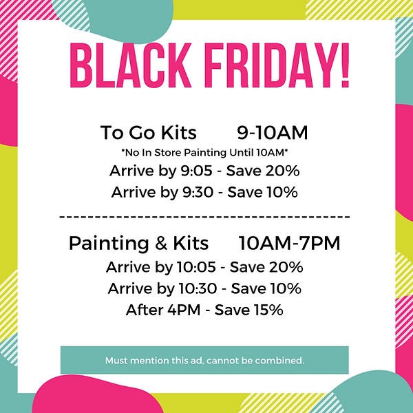 Colorful Black Friday Discount Instagram