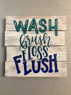 Wash Flush