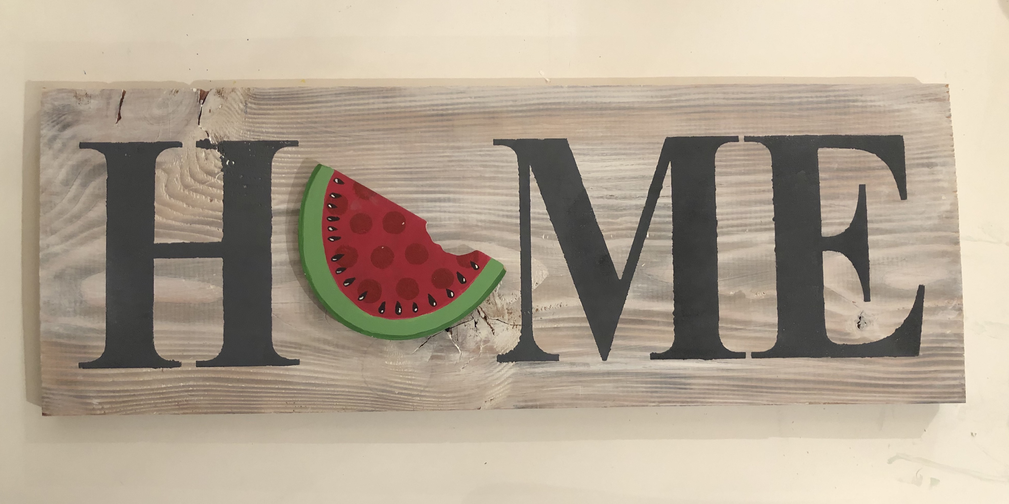 Interchangeable Home Sign $
