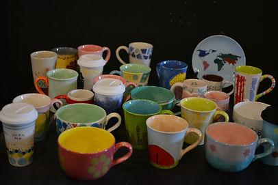 team building ceramics mugs corporate