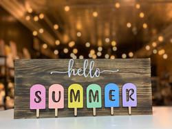3D Hello Summer