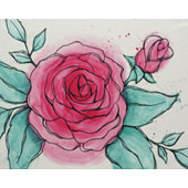 Watercolor Rose