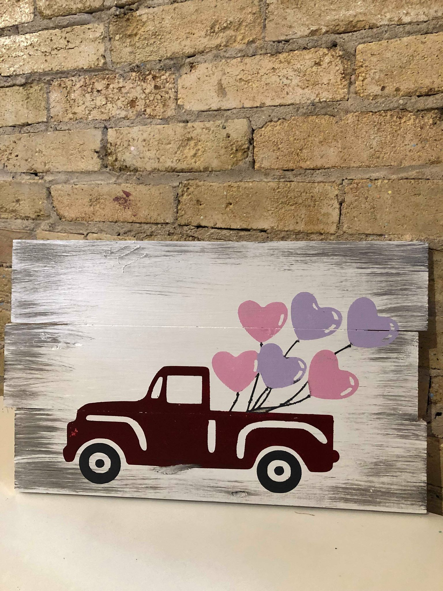 Valentines Truck