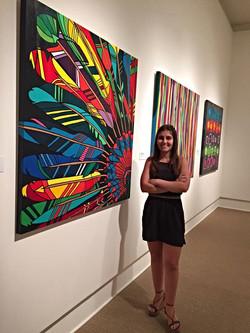 The Artist Caroline Arrigoni
