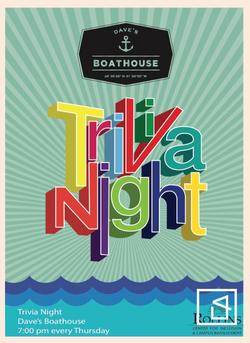 Trivia Night Poster Design