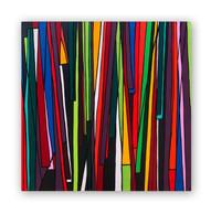 "Boi-Bumba (Brazilian Festival) 36""x36"" Acrylic on canvas"