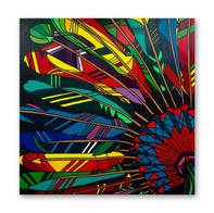 "Guarani of Amazon 48""x48""  Acrylic on canvas"
