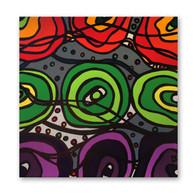 "Brazilian Carnaval Collection 12""x12"" Acrylic on canvas"