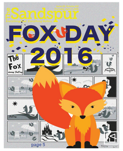 The Sandspur (Campus Newspaper) Fox Day Cover Design.png