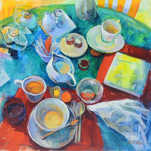 Breakfast at Arles