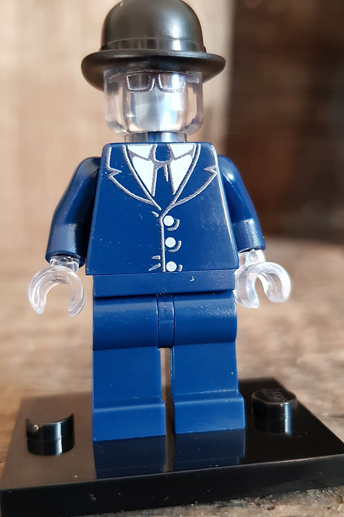 "LEGO® Custom Printed  ""The Invisible Man"""