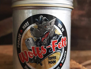 Pomadeshop Review: Wolfs-Fett Toffee Moon