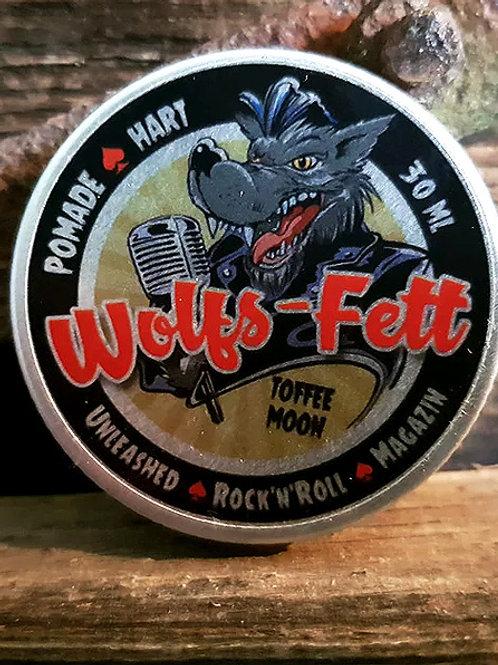 Wolfs-Fett Pomade hart Toffee Moon