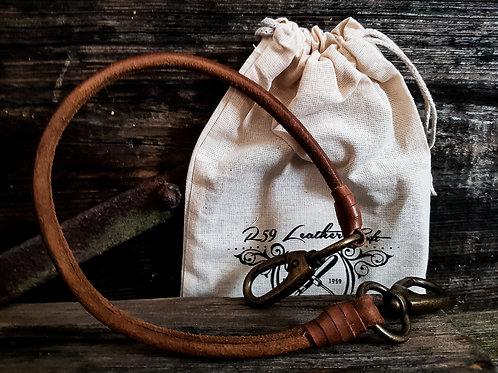 Rumble59 - Lederkette Leder Wallet Chain