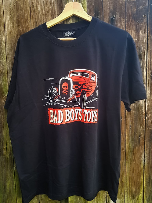 King Kerosin Bad Boys Toys T-Shirt, Mens, schwarz