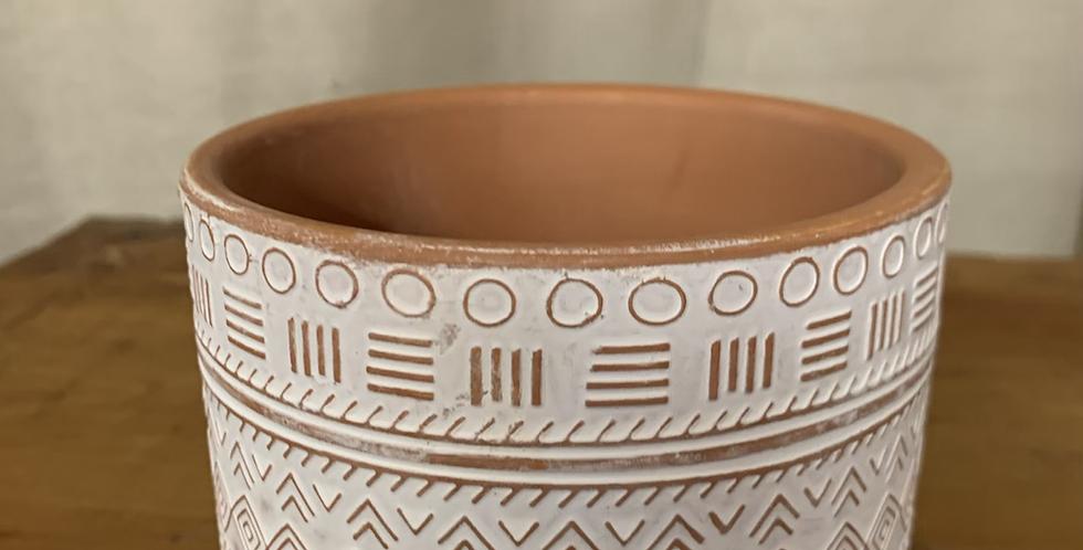 Patterned pot (3 styles)
