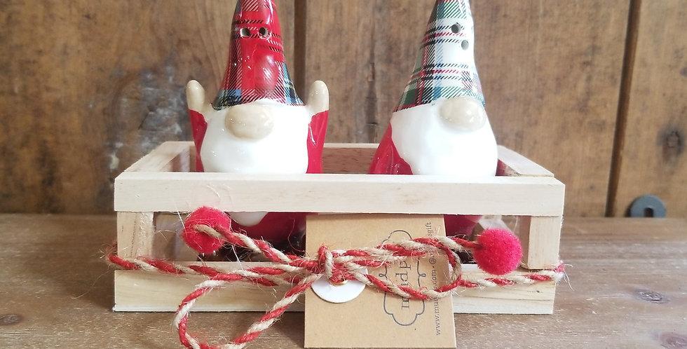 Gnome Salt & Pepper Shakers