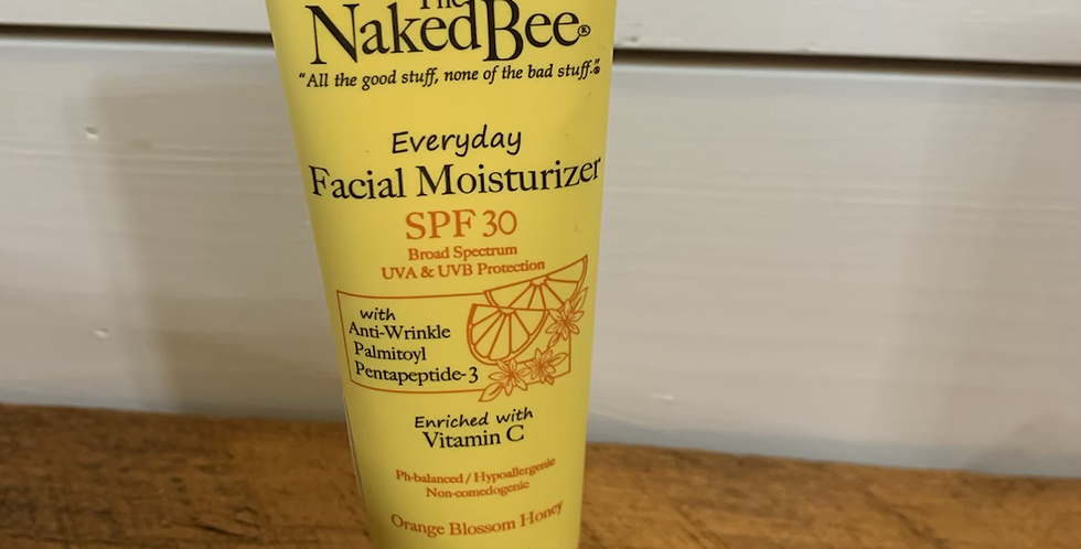 The naked bee everyday facial moisturizer