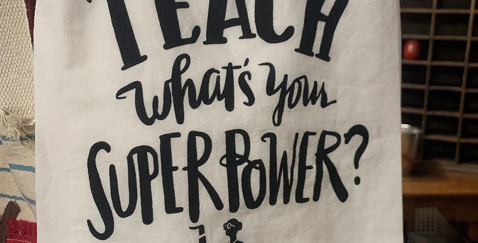 Teacher Towel (2 styles)