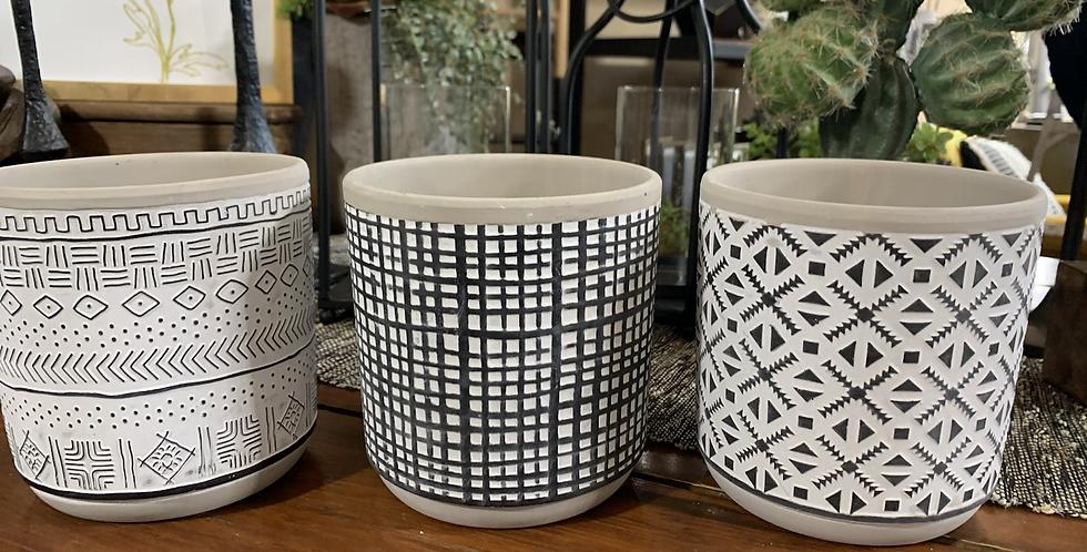Large pot (3 styles)