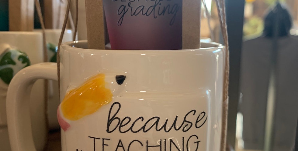 Coffee mug and shot glass (2 styles)