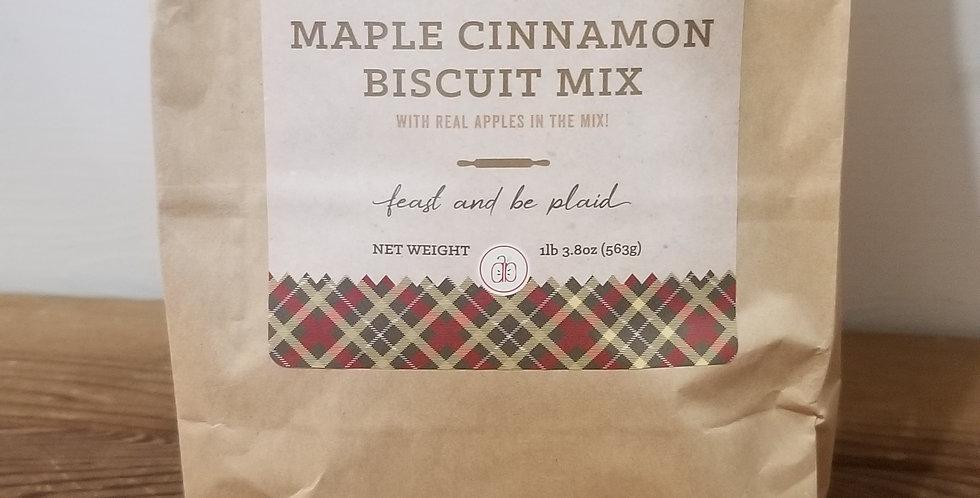 Maple Cinnamon Biscuit mix