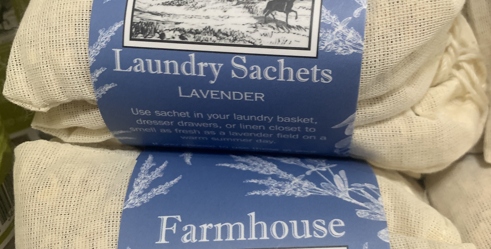 Laundry Sachets (3 Scents)