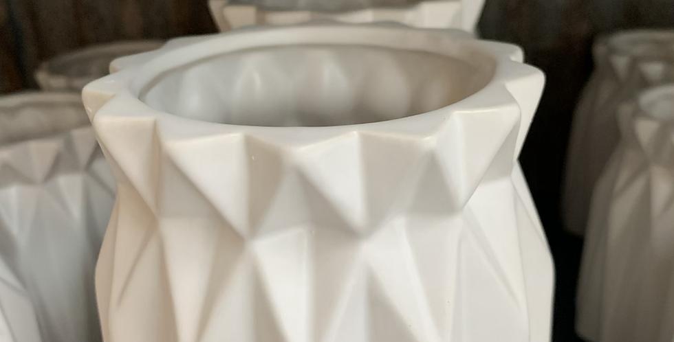 Large origami vase