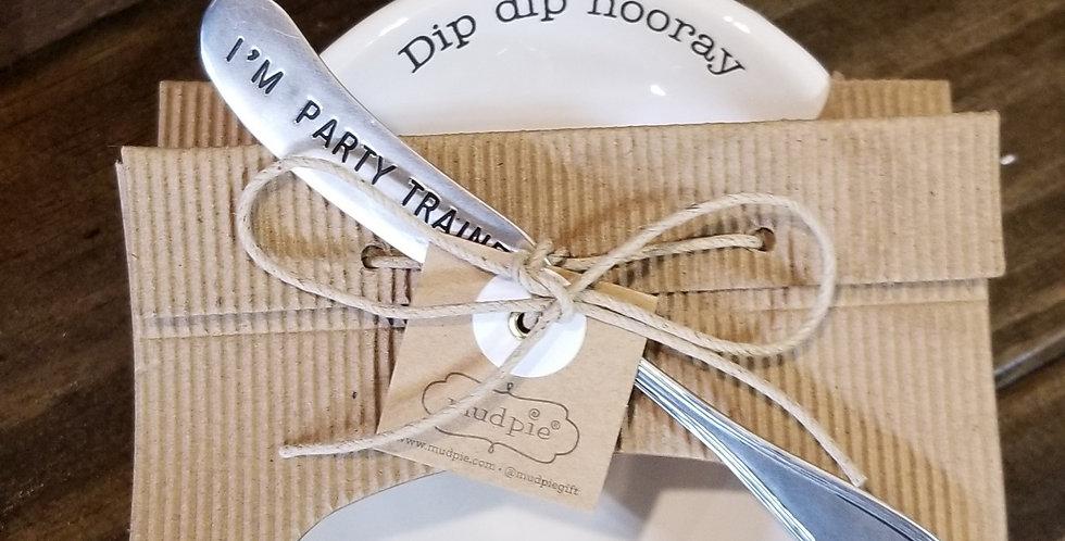 Pedestal dip bowl set ( 3 styles)