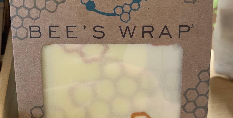 Single small reusable food wrap