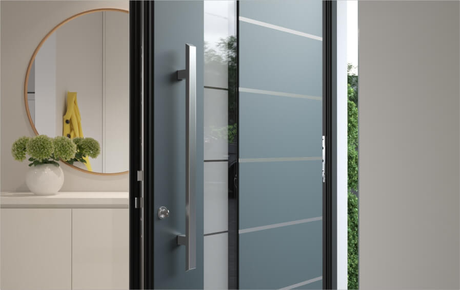 Inotherm Aluminium Door