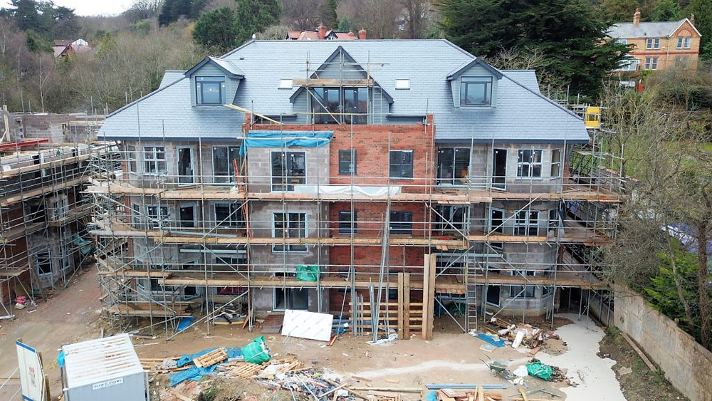 New Build Home Colwyn Bay