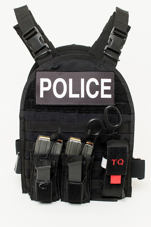 Active Shooter Response (ASR) Vest Kit -Black