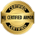 NIJ Certified 0101-06 Armor