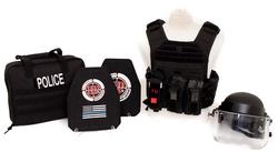 BULLETPROOF IT, LLC-Banshee Kit with bag and Helmet with Visor_edited