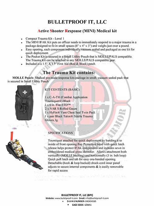Active Shooter Response (MINI) Medical Kit
