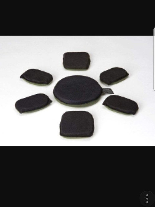 Helmet Replacement Pad Set, (7 Pads)