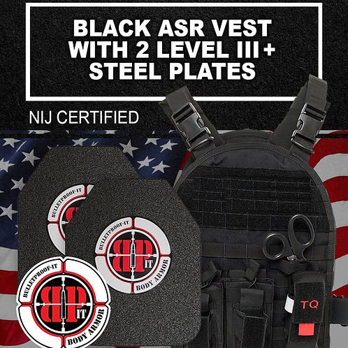 ASR Kit with Star 647 NIJ Certified Level III+ Plates