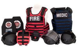 BULLETPROOF IT, LLC-(RTF) Rescue Task Force Vest Kit-Fire Kit with Blue medic