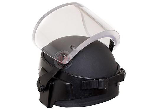 Ballistic Visor with band adjustment for PASGT, MICH and ACH Style Helmet