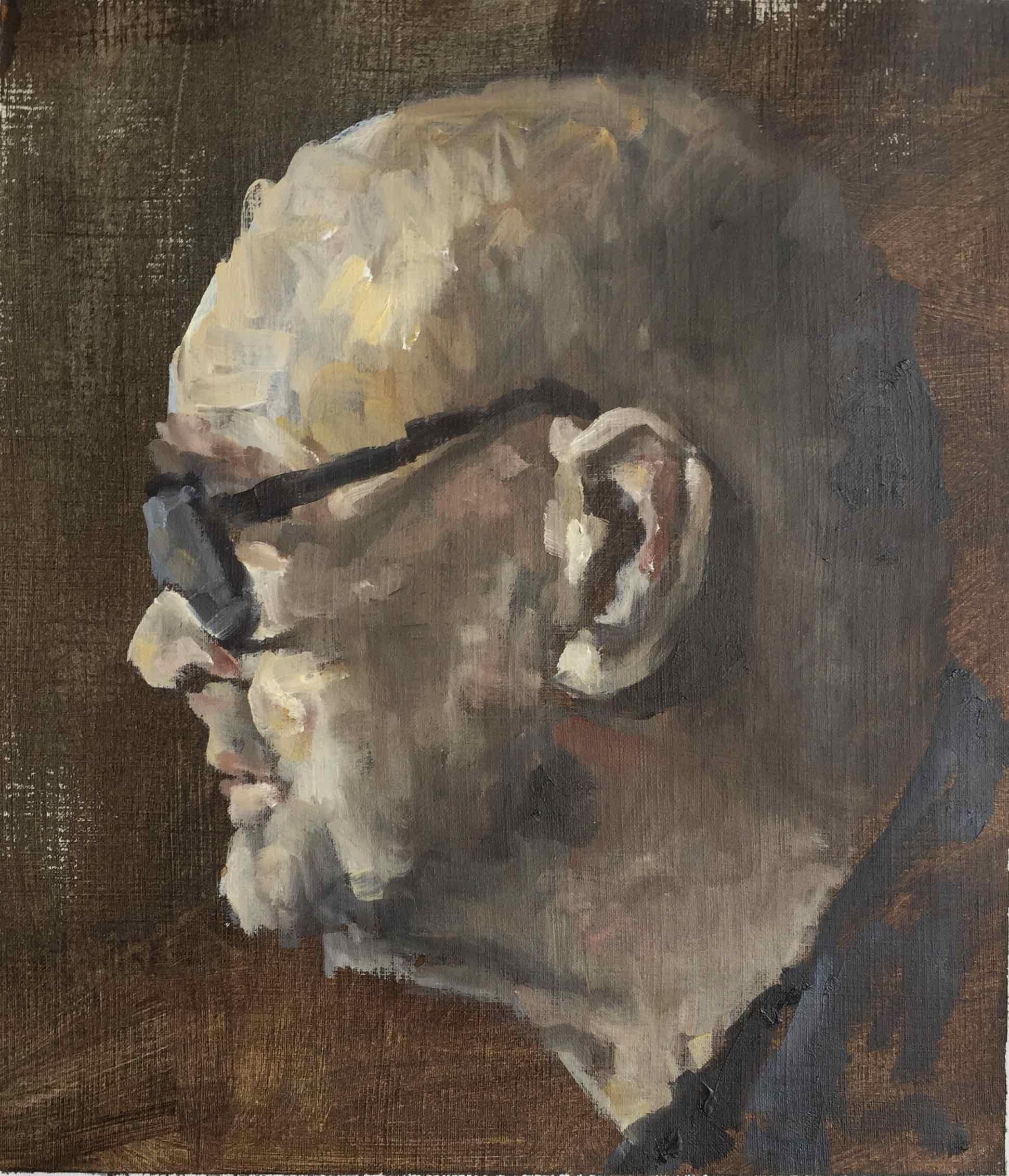 portretstudie Peter B 2016