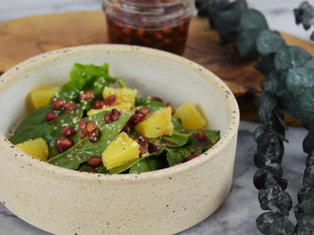 Simpler Ferments: Fermented Pomegranates and Honey