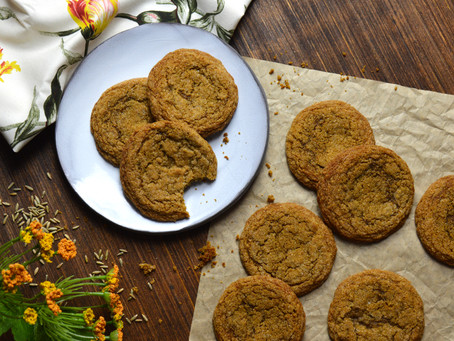New Twist to a Classic Cookie: Soft Rye Molasses Cookies